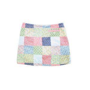 VINEYARD VINES Patchwork Mini Skirt Size 12 Girls